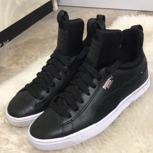 Black Puma Sneakers Size 8